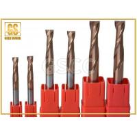 China Flat Bottomed Carbide Milling Cutter , ISO9001 Two Edged End Mill Cutter on sale