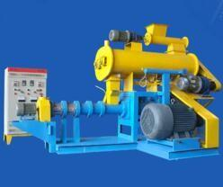 China Floating fish feed extruder machine 300kg/h - 350kg/h FY-DSP70 on sale