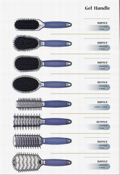 Gel Handle Hair Brush