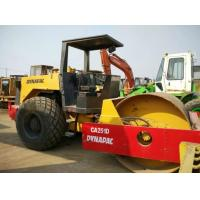 China Open Cabin Used Road Roller , New Paint Drum Roller Compactor Dynapac CA251D on sale