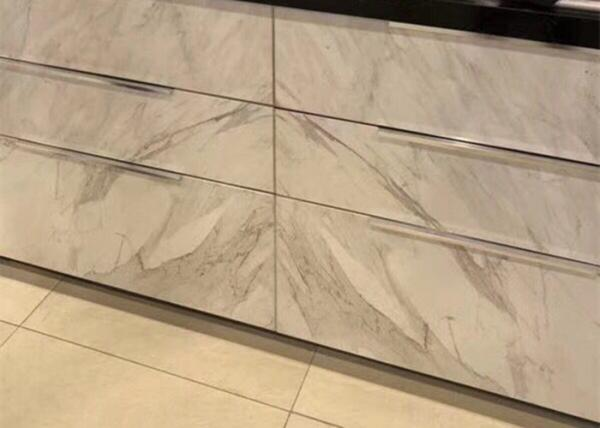 4mm Thickness Thin Marble Tile Real