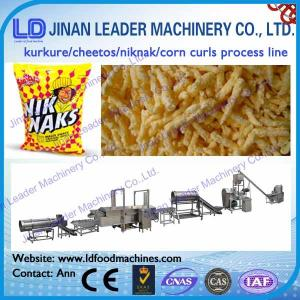 China Cheetos Kurkure Corn Chips Nik Naks making extruder processing production machinery plant on sale