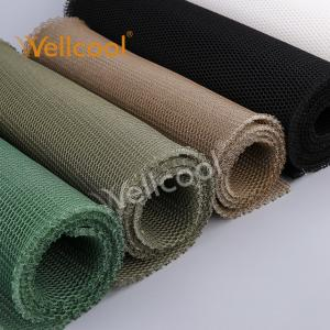 China Wholesale free sample honeycomb keep air flow 400-500g/m2 3d spacer mesh fabric for car seat on sale