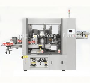 China Automatic Label Applicator Machine , Product Labeling Machine For Glass Bottle on sale