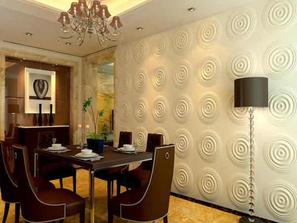 Modern Large Decorative Wall Panels Living Room With Sound Insulation Images