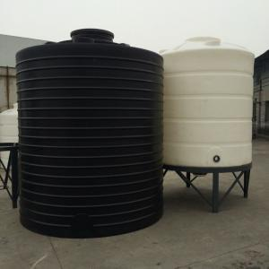 China PT 10000 Roto molding large Non potable Round Polyethylene bulk water storage tank on sale