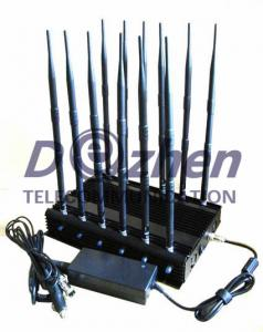 China 12 Band Radio Frequency Jammer GSM DCS Rebolabile 3G 4G WIFI GPS Satellite Phones 315-433-868 Mhz on sale