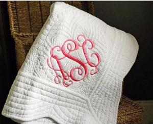 China Skin Friendly Knitted Quilted Baby Blanket For Home / Travel / Picnic Super Soft on sale