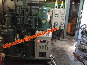 China Onsite Hydraulic Oil Filtration Equipment,Industrial Oil Cleaning Machine for degasification,dehydration,acid removal on sale