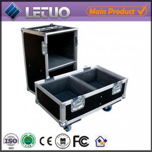 China Aluminum flight case road case transport crate case empty speaker cabinets flight case on sale