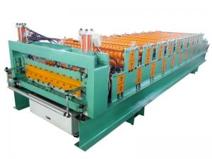 China High Strength Metal Roof Roll Forming Machine For Light Weight Wall Panels on sale