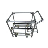 China Adjustable Aluminum Assemble Steel Pipe Storage Rack Hand Truck Trolley ODM / OEM on sale