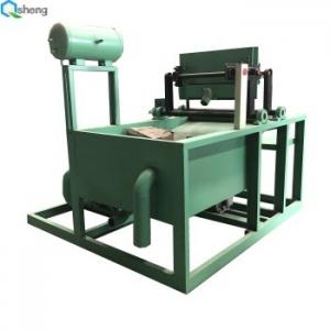 China 28kw 50kw Paper Pulp Molding Machine , 2000pcs / Hr Pulp Egg Tray Machine on sale
