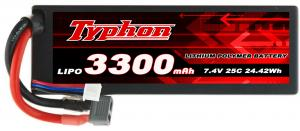 China RC Lipo Battery Packs Lithium Battery Li-Polymer Battery 3300mAh 7.4V on sale