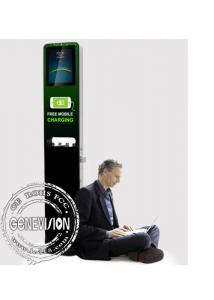 China 21.5 Kiosk Digital Signage Display Stands Cell Phone Charging Station Multi Media Ads on sale