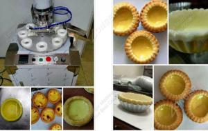 China Egg Tart Shell Making Machine|Egg Tart Skin Maker Machine With High Quality on sale