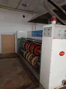 China 2900/480 3 Color Flexo Printer Slotter Machine Of Lead Edge Feeding Type on sale
