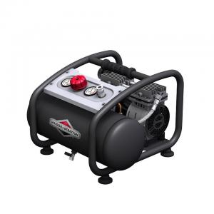 China Qpt Briggs And Stratton 3 Gallon Air Compressor 12 Liters With 1 Ball Valve on sale