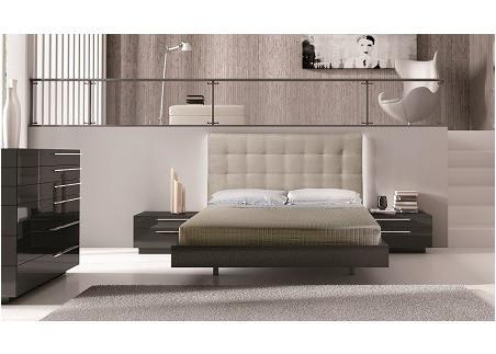 Black High Gloss Bedroom Furniture Set