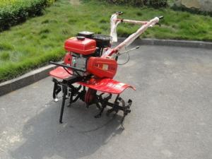 China Tillage agriculture gas powered garden rotary tiller , grass tiller machine on sale