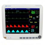 15 Inch Color TFT LCD Display Auto Double Alarm Multi - Parameter Patient Monitor With 6 Standard Parameters