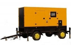 China 100KVA  Mobile Trailer Mounted Diesel Generator Set Cummins Genset supplier