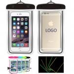 Noctilucent Waterproof Phone Pouch Water Resistant Cellphone Bag