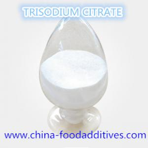 China Food Additives sodium citrate dihydrate,Trisodium citrate dihydrate, food grade, 6132-04-3 on sale
