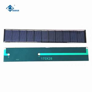 China Epoxy Resin ZW-17028 Customized light weight solar panel for solar laptop charger 0.6W 5.5V on sale
