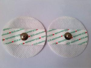 China Disposable ECG EKG Electrodes Medical Dry Safety ECG Chest Electrodes on sale