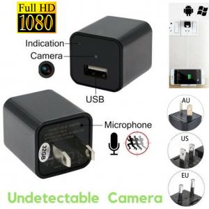 China 1080P  HD Home security baby monitor SPY DVR Hidden Camera Mobile Phone Plug Charger Video Recorder Cam Support 32GB TF on sale