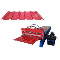 China metal roofing galvanized aluminum corrugated steel sheet making machine colored steel wall roof panel cold roll forming on sale