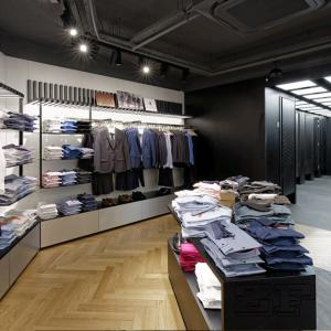 Clothing Boutique Store Interior Design With Display Shelves For Sale Men Clothing Display Furniture Manufacturer From China 105575140