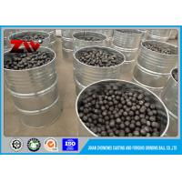China Chrome iron ball mill grinding media balls for gold mining by the SGS test on sale