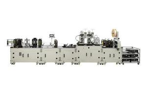 China Energy Saving Earloop Face Mask Machine , Face Mask Production Line on sale