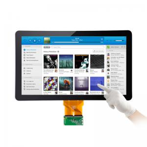 China Android Win7 Win8 Capacitive Touch Screen Kit , 18.5 Inch Projected Capacitive Touch Panel on sale