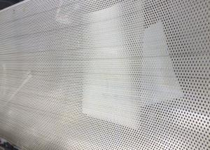 China 1220x2440mm Stainless Steel Sheet Metal With Holes Decoration on sale