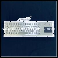 China Riot Metal 304SS IK07 Industrial Keyboard With Touchpad on sale