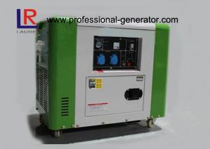 China 50Hz / 60Hz Air Cooling 4 Stroke 5.5kw Diesel Driven Generator Good Performance on sale