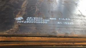 China EH36 CCS LR GL High Strength Steel Plate EH36 Shipbuilding Steel Plate 3-150mm on sale