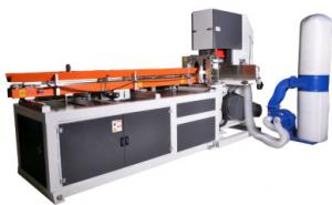 China Manufacturer Automatic Maxi Roll Band Saw Cutting Machine High Production Rate on sale