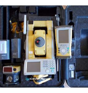 China Topcon Robotic Total Station GPT 9005A FC200 Kit on sale