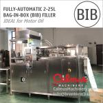 Fully-automatic BiB Engine Motor Oil Filling Machine Bag in Box Filler