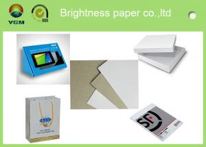China 300gsm Offset Printing Product Packaging Paper White Board Customised Size on sale