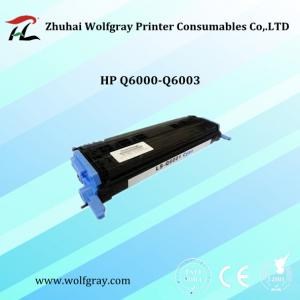 China Compatible for HP Q6000A toner cartridge on sale