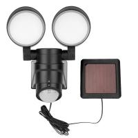 China White 450LM Solar Dual Spot Light With Motion Sensor on sale