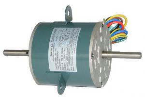 China Replacement Fan Motor For Air Conditioner Reversible Rotation 1/5HP on sale