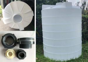 China 4000LPH Water Treatment Industrial Plastic Water Storage Tanks / Plastic Water Tower Thickening Resistance on sale