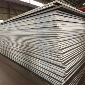 China Large Inventory hot selling good quality Q550 Q690 high tensile steel plate on sale