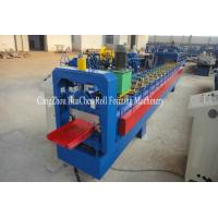 China Custom Galvanized Single Roofing Sheet Metal Roll Forming Machine 380V 50Hz 3 Phase on sale